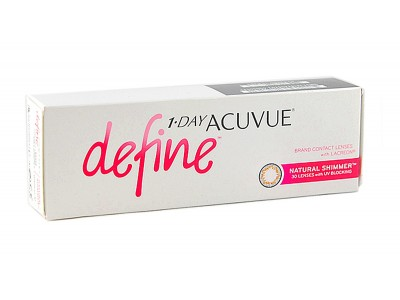1-Day Acuvue Define Natural Shimmer (30 шт.)